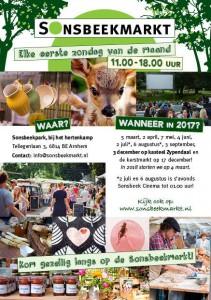 flyer SonsbeekMarkt 2017